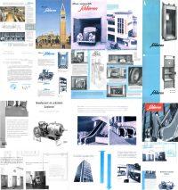 Schlieren nel 1892 Iniziò la fabbricazione di ascensori azionati elettronicamente
