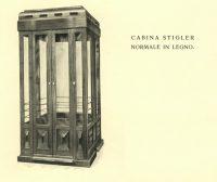 Cabina Stigler in legno